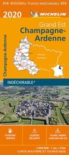 Michelin - Champagne-Ardenne - 1/200 000, indéchirable.