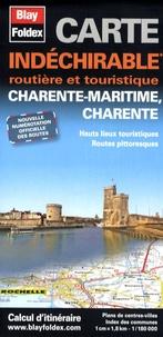 Blay-Foldex - Charente-Maritime, Charente - Carte indéchirable 1/180 000.