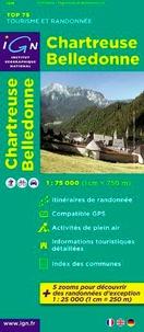 IGN - Chartreuse Belledonne - 1/75 000.