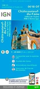 Châteauneuf-du-Faou, Vallée de lAulne, PNR dArmorique - 1/25 000.pdf