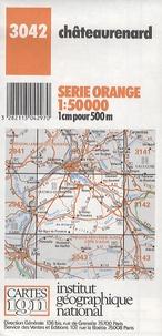 IGN - Châteaurenard - 1/50000.