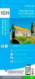 IGN - Cherbourg-en-Cotentin, Pointe de Barfleur - 1/25 000.