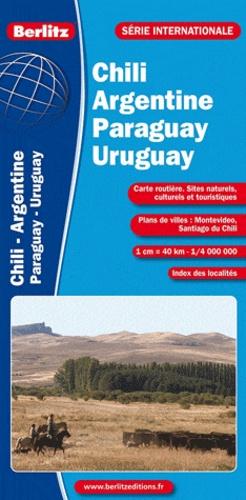 Berlitz - Chili argentine paraguay uruguay - 1/4 000 000.