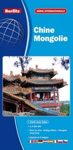 Berlitz - Chine Mongolie - 1/400 000.
