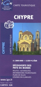 Carte Ign Chypre.Chypre 1 200 000 Depliant
