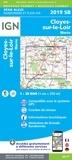 IGN - Cloyes-sur-le-Loir, Morée - 1/25 000.