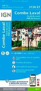 Combe-Laval, Fôret de Lente, PNR du Vercors - 1/25 000.pdf