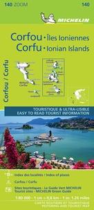 Michelin - Corfou et les îles Ioniennes - 1/80 000.