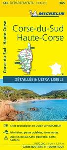 Michelin - Corse-du-Sud, Haute-Corse - 1/150 000.
