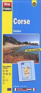 Blay-Foldex - Corse - 1/200 000.