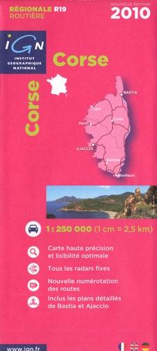 IGN - Corse - 1/250 000.