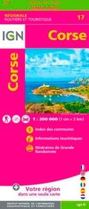 IGN - Corse - 1/200 000.