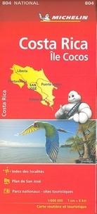 Michelin - Costa Rica, Ile Cocos - 1/600 000.