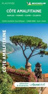 Michelin - Côte amalfitaine - Naples, Pompéi, Capri, Cilento. 1/400 000.