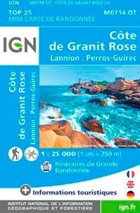 IGN - Cote de granit rose - 1/25 000.