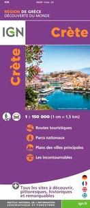 IGN - Crète - 1/150 000.