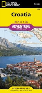 National geographic society - Croatia - 1/500 000.