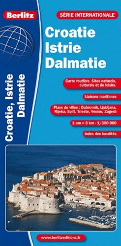 Berlitz - Croatie Dalmatie Istrie - 1/300000.