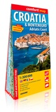 Express Map - Croatie & Montenegro, Adriatic Coast - 1/300 000.