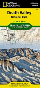 National Geographic - Death Valley National Park - 1/165 000.