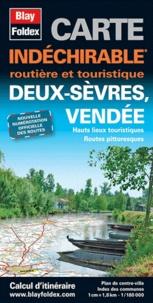 Blay-Foldex - Deux-Sèvres, Vendée - Carte indéchirable 1/180 000.