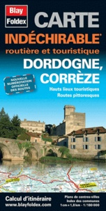 Blay-Foldex - Dordogne, Corrèze - 1/180 000.