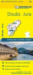 Michelin - Doubs, Jura - 1/150 000.
