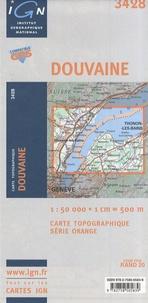 IGN - Douvaine - Carte topographique 1/50 000.