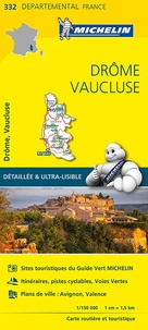 Michelin - Drôme, Vaucluse - 1/150 000.