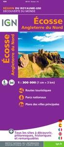 IGN - Ecosse, Angleterre du Nord - 1/300 000.