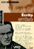 Antoine Chevrier - Ecrits spirituels.