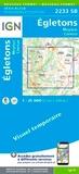 IGN - Egletons, Meymac, Corrèze - 1/25 000.