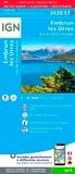 IGN - Embrun, Les Orres - Lac de Serre-Ponçon : 1/25 000.