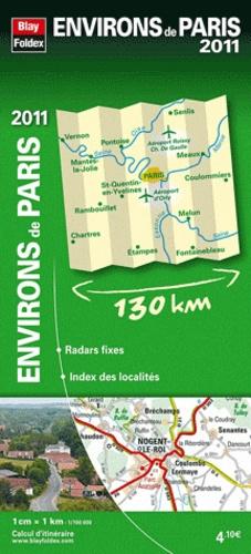 Blay-Foldex - Environs de Paris - 1/100 000.