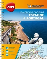 Michelin - Espagne & Portugal - Atlas routier & touristique - 1/400 000.