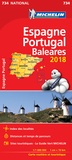 Michelin - Espagne Portugal Baléares.
