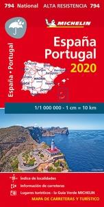 Michelin - Espagne Portugal - 1/1 000 000, indéchirable.