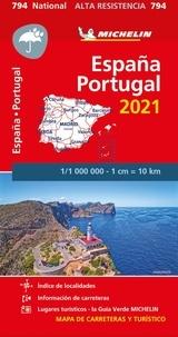 Michelin - Espagne, Portugal - 1/1 000 000.