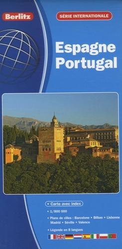 Berlitz - Espagne Portugal - 1/800 000.