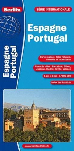 Berlitz - Espagne - Portugal - 1/800 000.