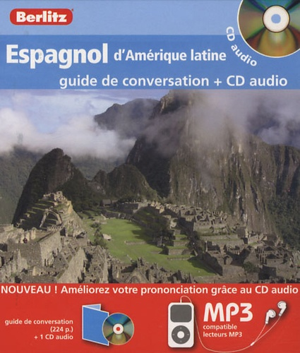 Berlitz - Espagnol d'Amérique latine - Guide de conversation. 1 CD audio MP3