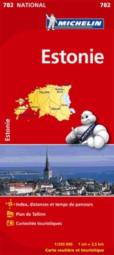 Michelin - Estonie - 1/350 000.
