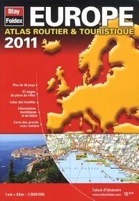 Blay-Foldex - Europe - Atlas routier & touristique 1/800 000.