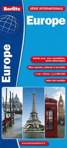 Berlitz - Europe - 1/2 500 000.