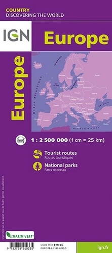 Europe. 1/2 500 000