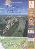 Huber Verlag - EuroVelo Alsace - Franche-Comté - 1/100 000.