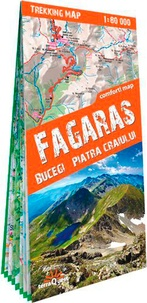 Express Map - Fagaras - Bucegi, Piatra, Craiului. 1/80 000.