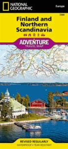 National Geographic - Finland and Northern Scandinavia - 1/975 000.