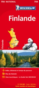 Michelin - Finlande - 1/1 250 000.