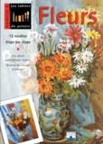 Collectif - Fleurs - 12 modèles étape par étape....